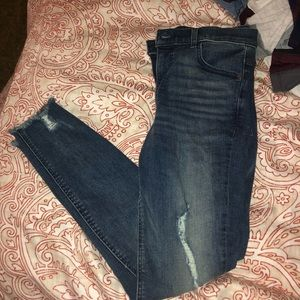 Express Jeans - express high rise ankle skinny jean leggings!!